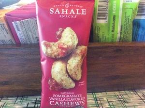 Sahale Cashews Pomegranate Vanilla